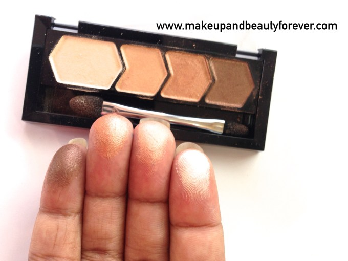 Maybelline Eyestudio Diamond Glow 01 Copper Brown Review Swatches Price Details