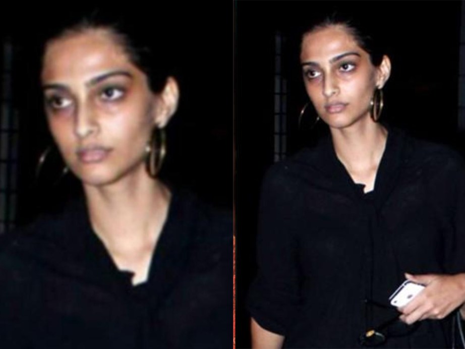 Sonam Kapoor without no makeup 1