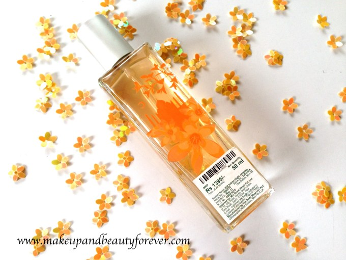 The Body Shop Indian Night Jasmine Eau De Toilette Review MBF India