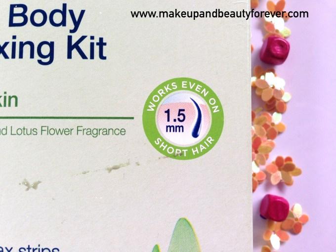 veet gel wax kit instructions