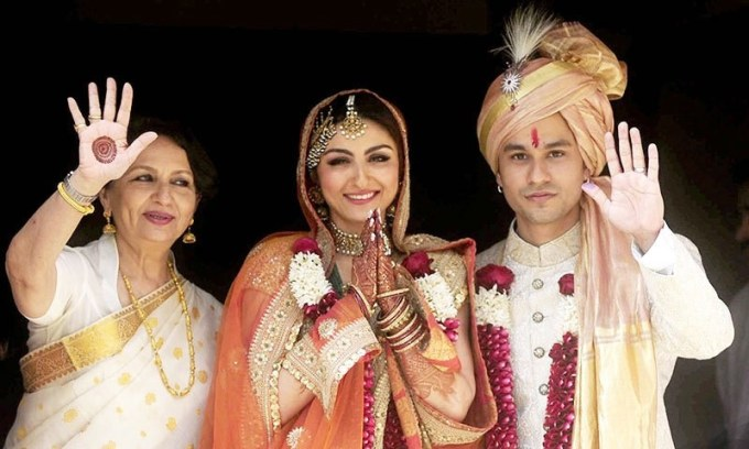 All about Soha Ali Khan and Kunal Khemus Royal Wedding