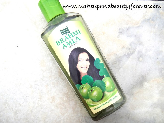 Bajaj Brahmi Amla Hair Oil Review Indian Makeup and Beauty Blog