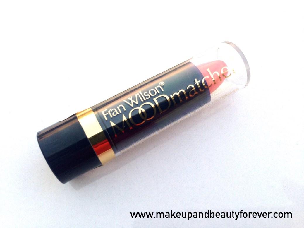 Fab Bag August 2015 Cast A Spell Moodmatcher Liquid Matte Just Blush Fran Wilson Lipstick Pink Indian Beauty Blog