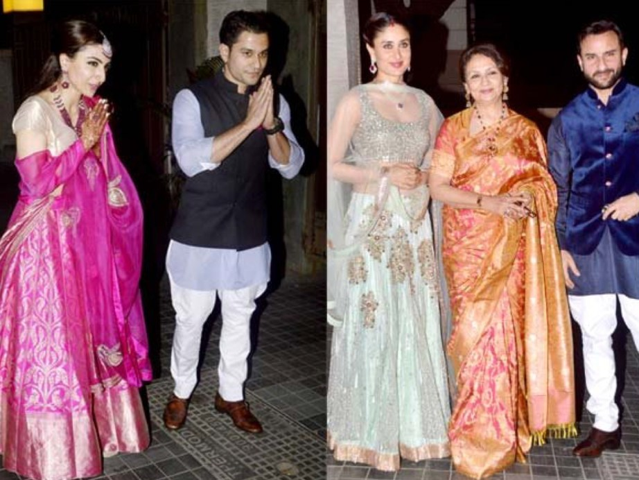 Saif Kareena Host at Soha Ali Khan Kunal Khemu Wedding
