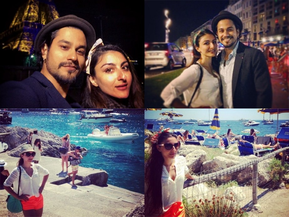 Soha Ali Khan Kunal Khemu in Paris Wedding Proposal