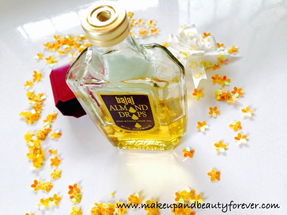 Bajaj Almond Drops Non Sticky Hair Oil with Vitamin E Review 1