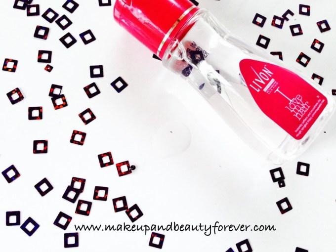 Livon Silky Potion Detangling Hair Fluid Review swatch effects