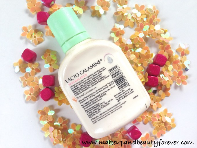 Lacto Calamine Hydration Lotion with Kaolin and Aloe Vera for Dry to Normal Skin