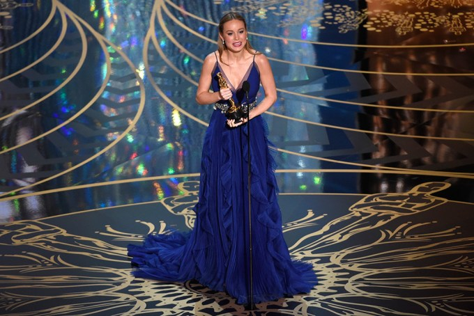 Brie Larson Best Actress Dress oscars 2016