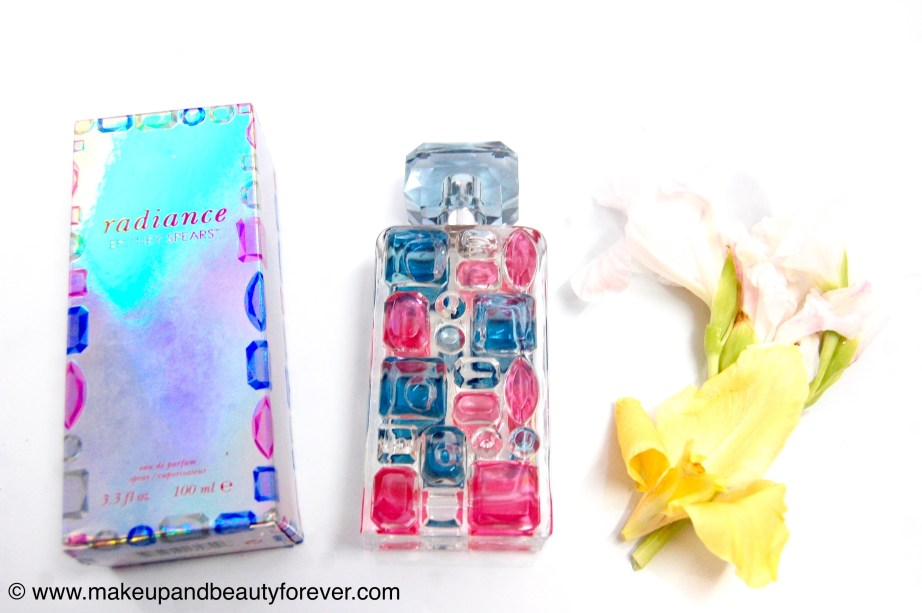 Britney Spears Radiance Eau de Parfum Spray Review Makeupandbeautyforever Astha bansal
