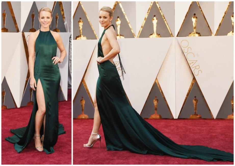 Rachel McAdams August Getty Atelier dress Oscars 2016