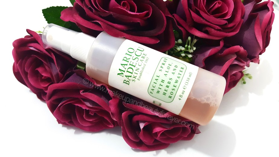 Mario Badescu Facial Spray Aloe Herbs Rosewater Review