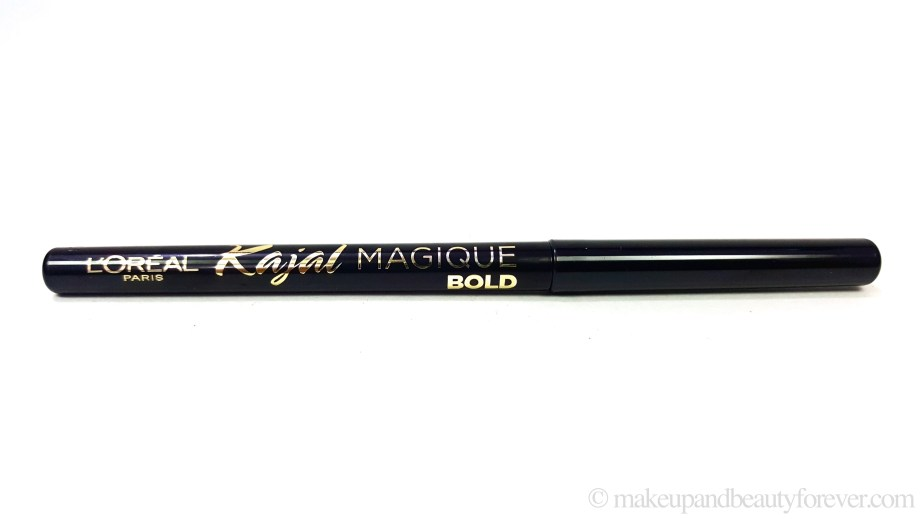 L'Oreal Paris Kajal Magique Bold Review Swatches Makeup Beauty Blog