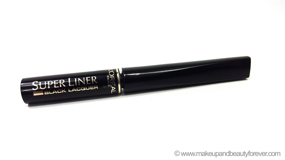 LOreal Super Liner Black Lacquer Black Vinyl Review