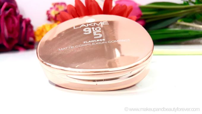 Lakme 9 to 5 Flawless Matte Complexion Compact Review Shades Swatches Price Buy India