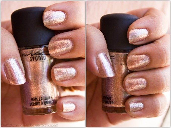 MAC Soiree Nail Lacquer Review photos Swatches