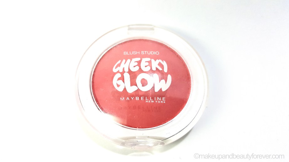 Maybelline Cheeky Glow Blush Fresh Coral Review