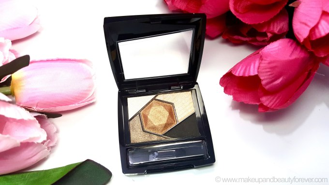Maybelline Color Sensational Diamonds EyeShadow Palette Topaz Gold Review Swatches Makeup and Beauty Forever