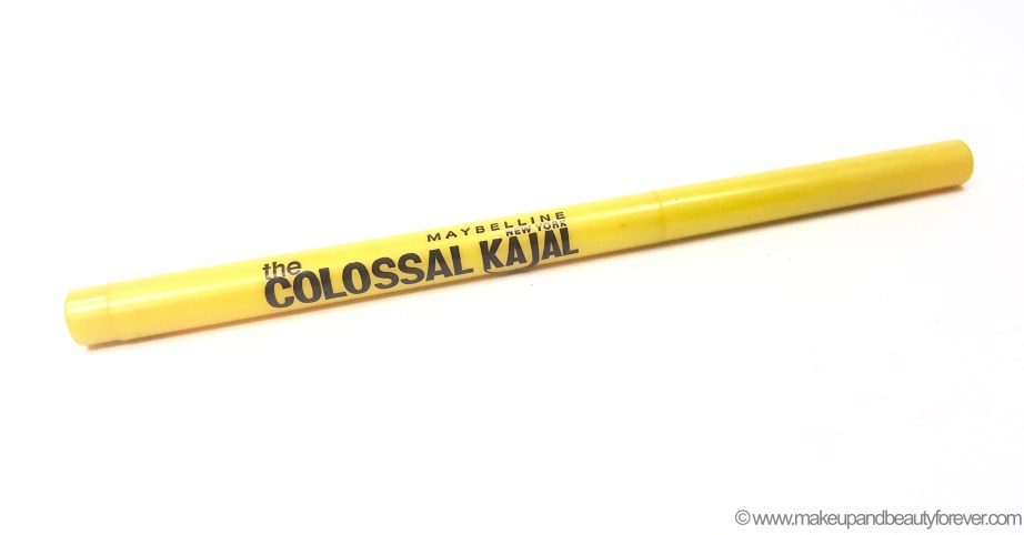 Maybelline The Colossal Kajal Review