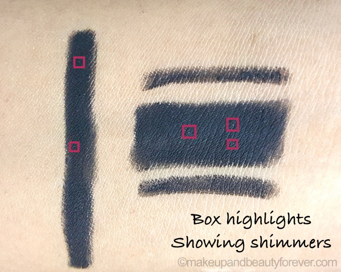 Maybelline super black colossal kajal shimmers