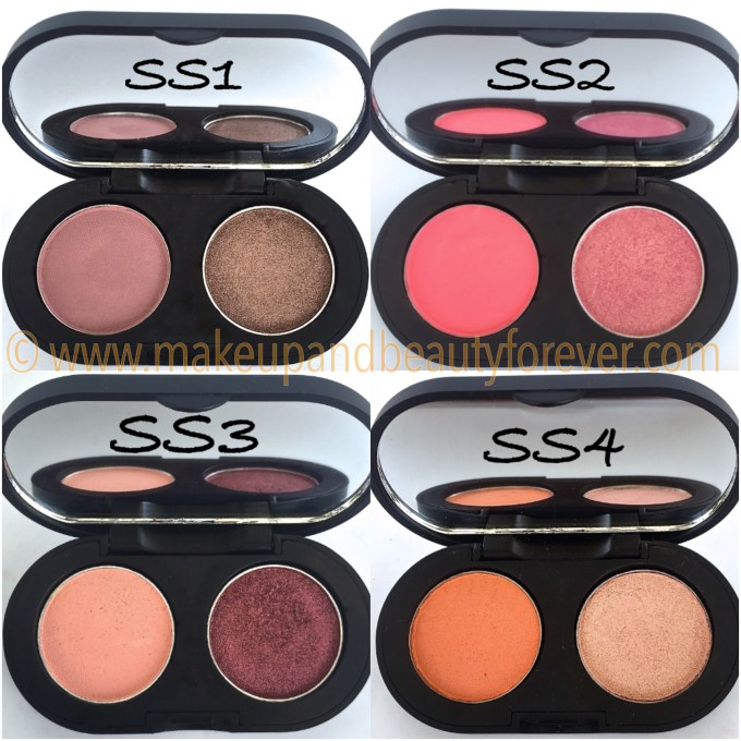 SeaSoul Makeup HD Eyeshadow Palette SS1 SS2 SS3 SS4