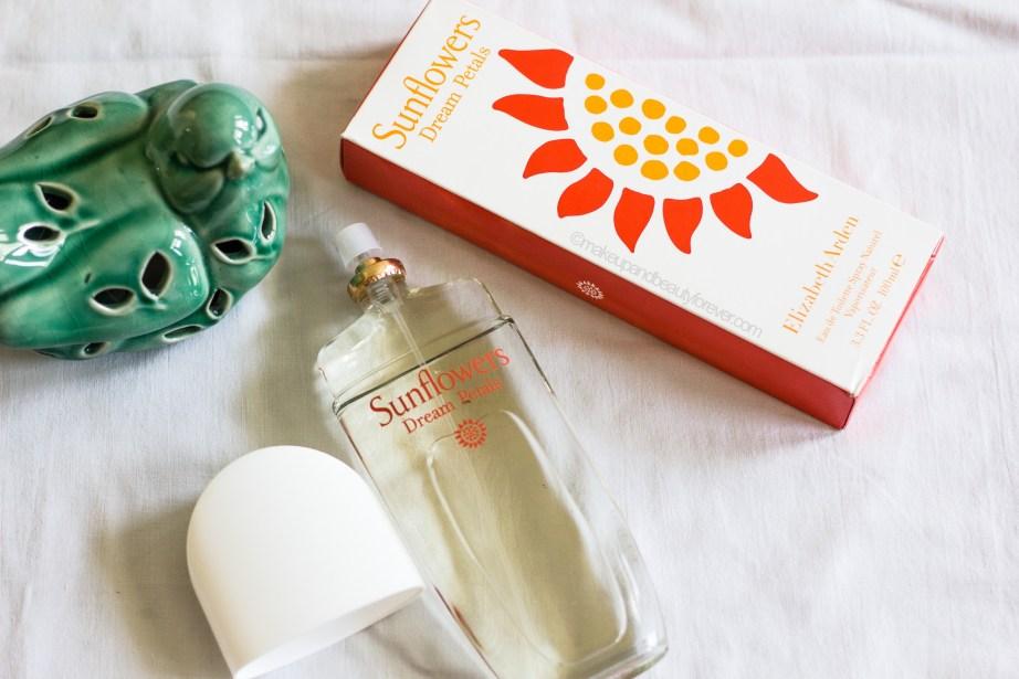 Elizabeth Arden Sunflower Dream Petals EDT Perfume Review blog