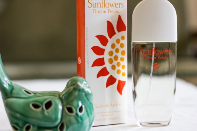 Elizabeth Arden Sunflower Dream Petals EDT Perfume Review