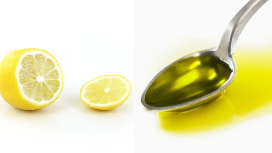 Lemon and Olive Oil for Dandruff hair fall loss MBF Beauty Blog