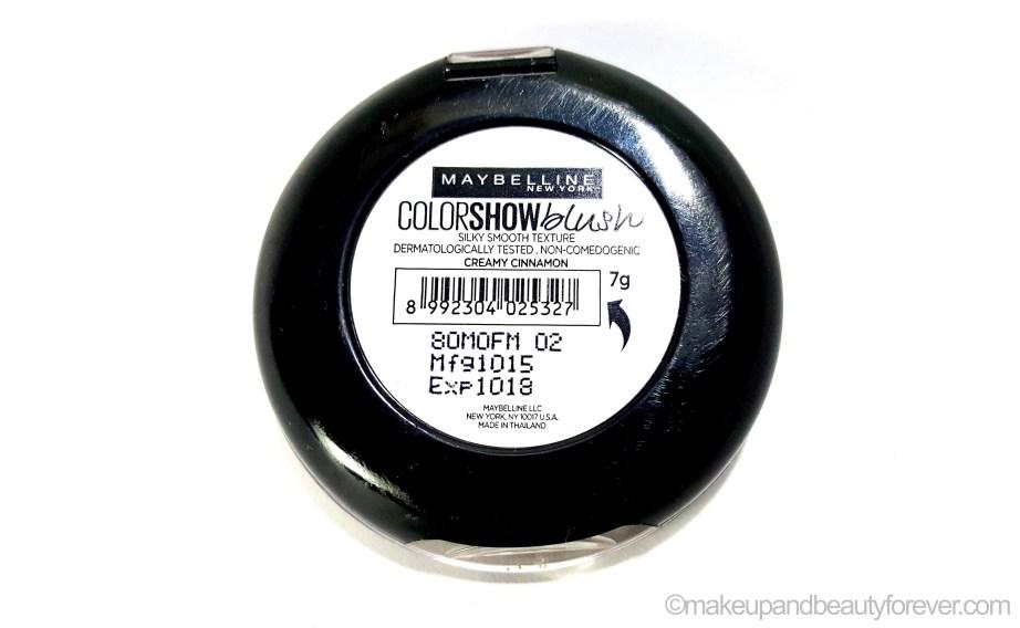 Maybelline Color Show Blush Creamy Cinnamon
