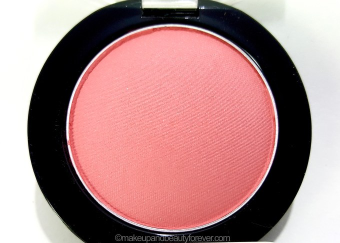 Maybelline Color Show Blush Peachy Sweetie Review Swatches close up