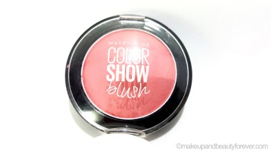 c9362aa64b5 Maybelline Color Show Blush Peachy Sweetie Review