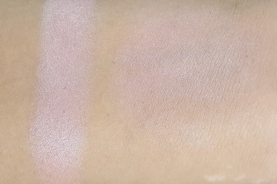 Maybelline Fit Me Blush Medium Nude 208 Review Swatches on Hand