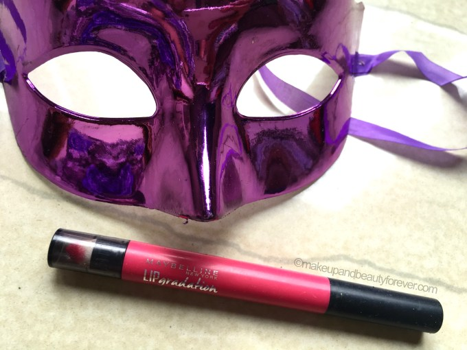 Maybelline Lip Gradation Pink 2 Review Swatches