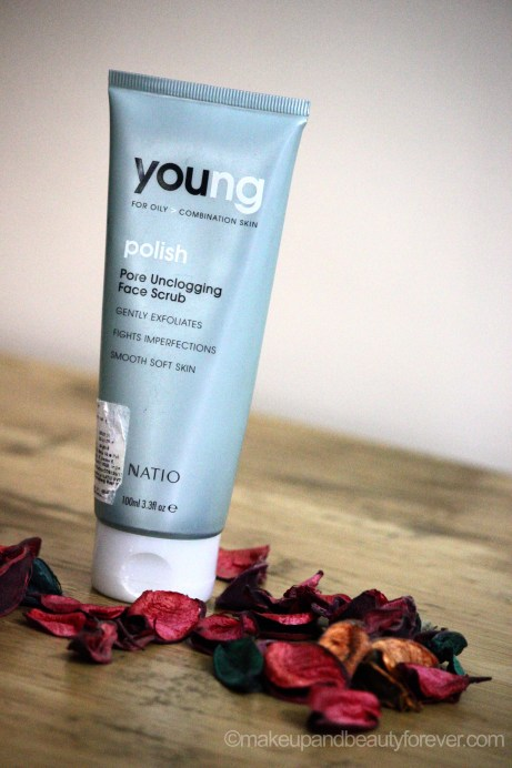 Natio Young Polish Pore Unclogging Face Scrub Review vertical image