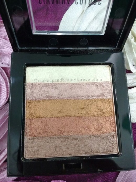 Sivanna Shinning Star Shimmer Brick Review Swatches Beauty blog