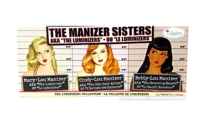 theBalm Manizer Sisters Mary Cindy Betty Lou Manizer Palette Review MBF