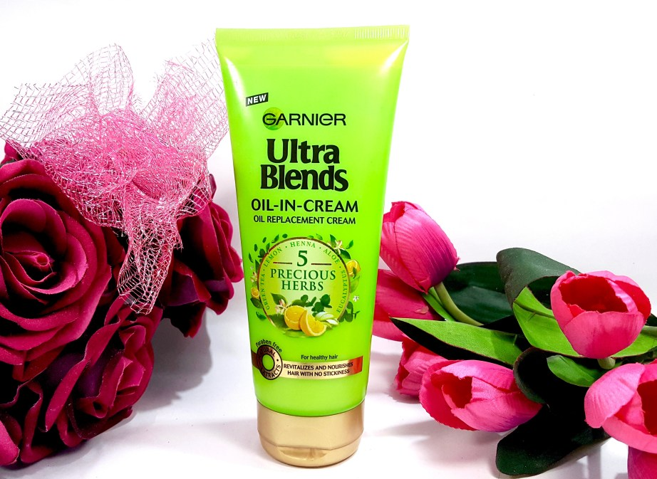 Garnier Ultra Blends 5 Precious Herbs Oil In Cream Oil Replacement Cream Review