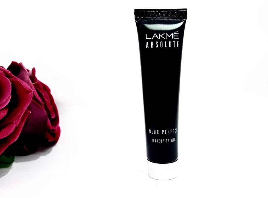 Lakme Absolute Blur Perfect Makeup Primer Review mbf blog