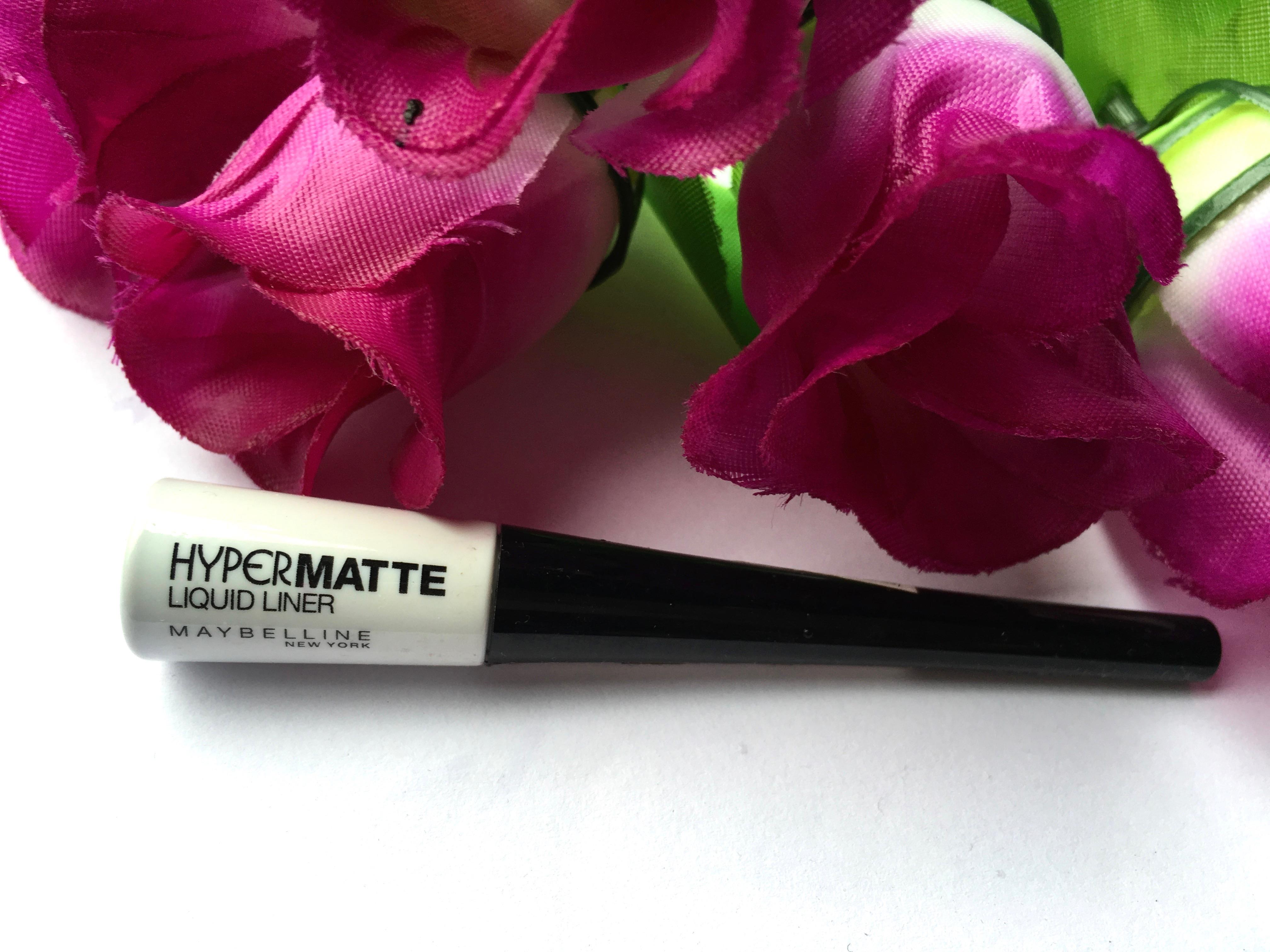 Maybelline Hyper Matte Liquid Liner Review Swatches Ink Eye Black