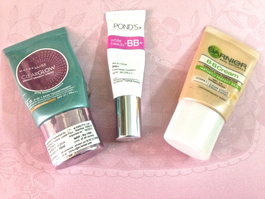Maybelline Ponds Garnier BB Creams Review vs Comparison Which one to buy?