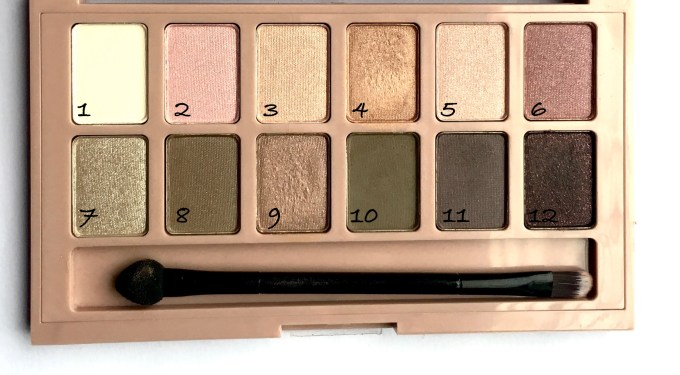 Maybelline The Blushed Nudes Palette Review Swatches Makeup US