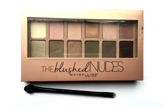 Maybelline The Blushed Nudes Palette Review Swatches Makeup mbf blog