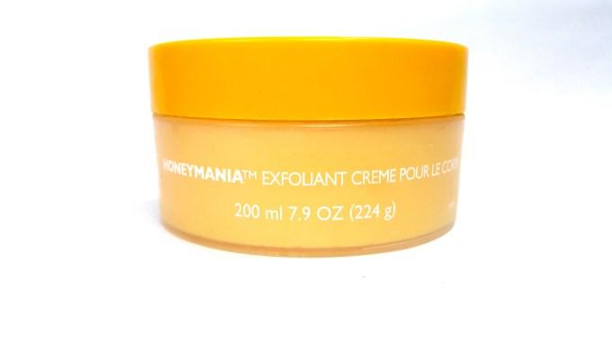 The Body Shop Honeymania Cream Body Scrub Review spanish