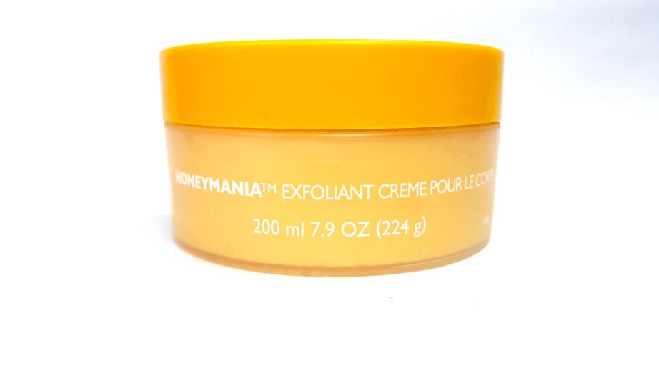 The Body Shop Honeymania Cream Body Scrub Review spanish
