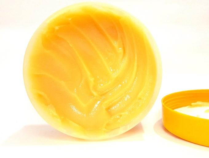 The Body Shop Honeymania Cream Body Scrub Review tub