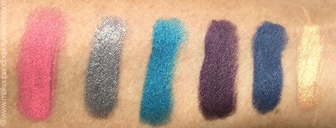 All Faces Ultime Pro Eyeshadow Crayons 6 Shades Review Swatches Dancing Queen 01 Night Fever 02 Last Christmas 03 Uptown Girl 04 Staying Alive 05 Shes Got D Look 06 mbf blog