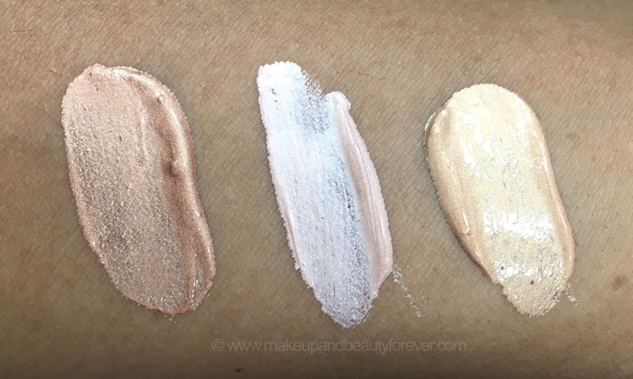 All Faces Ultime Pro Metaliglow Illuminator Opal Topaz Champagne 3 Shades Review