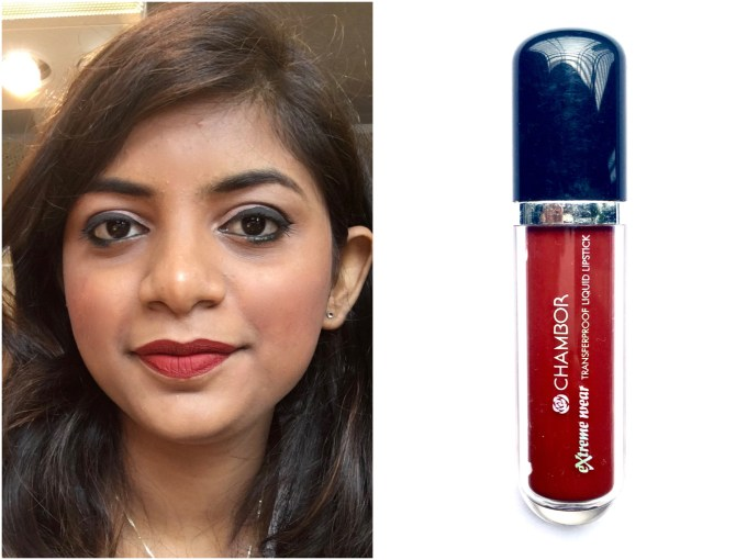 Chambor Extreme Wear Liquid Lipstick Shade 432 Review Swatches MBF blog