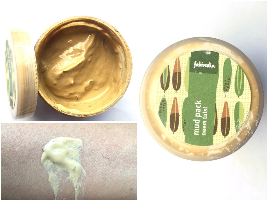 Fabindia Neem Tulsi Mud Face Pack Review