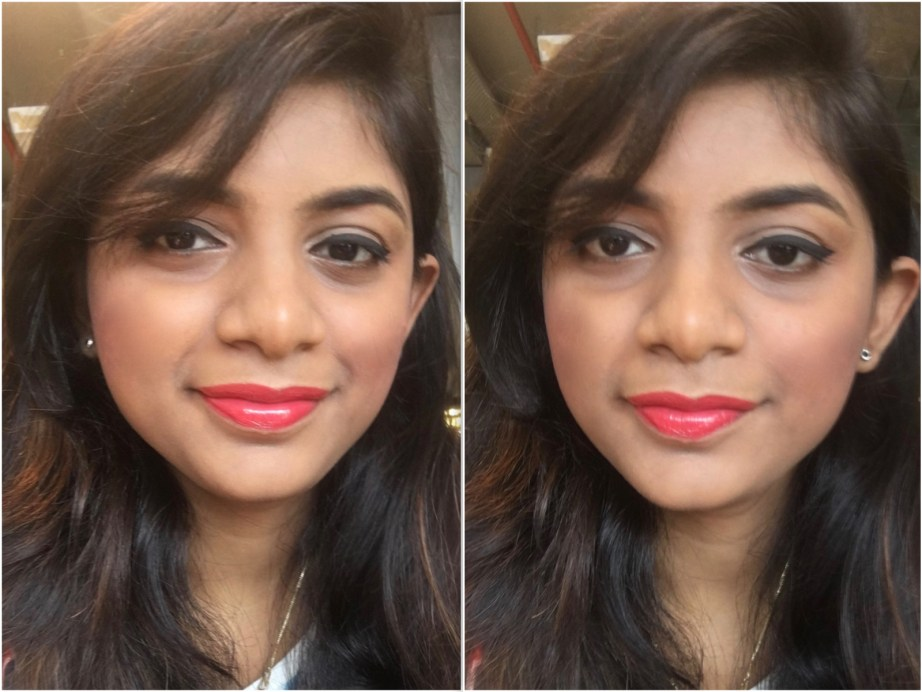 Faces Ultime Pro Creme Lip Crayon Invincible 04 Review Swatches makeup look Pooja MBF